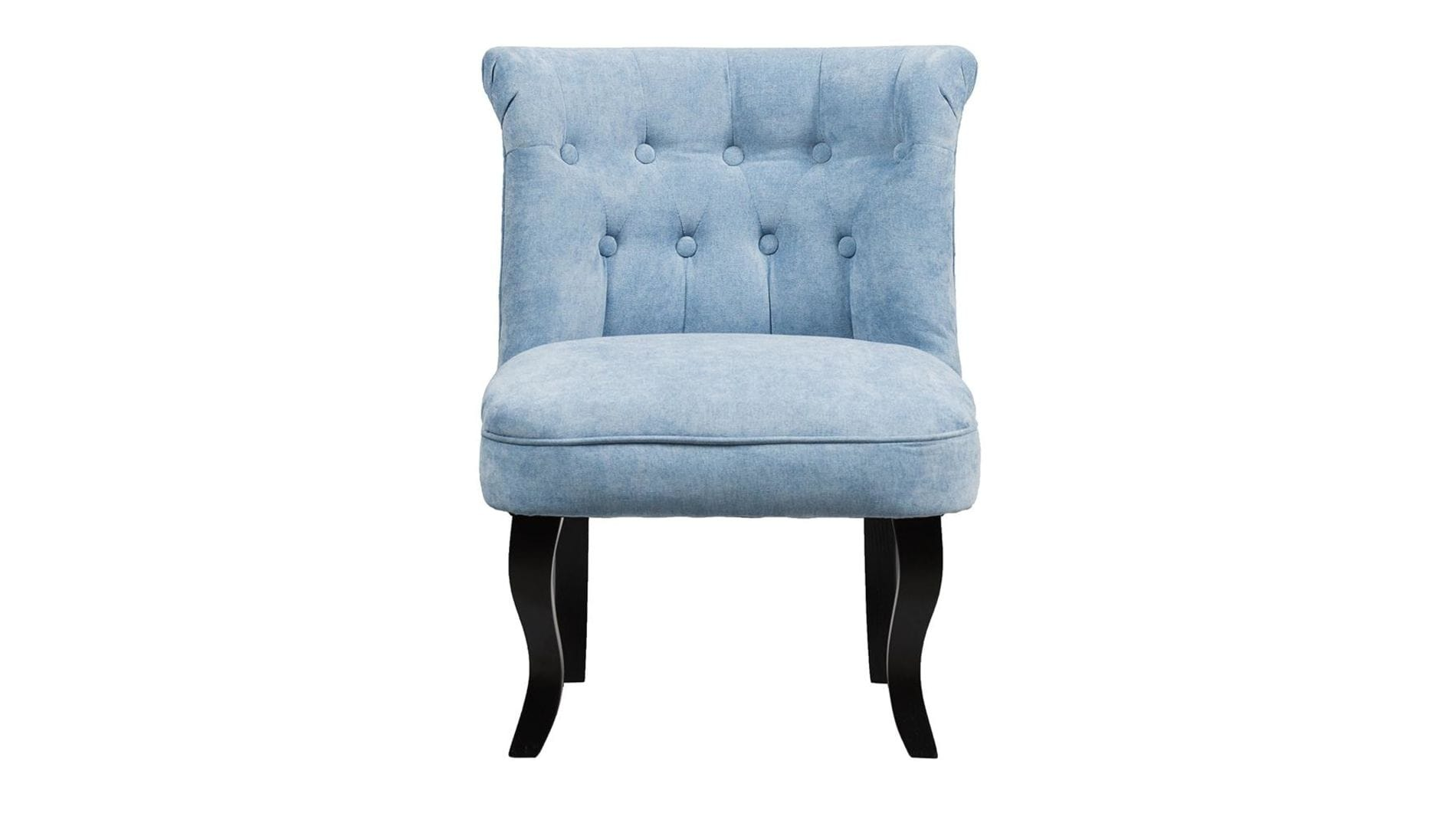 Кресло Dawson Голубой Велюр М