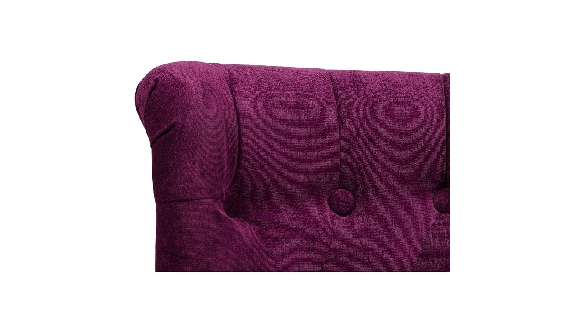 Кресло Dawson Фиолетовый Велюр М
