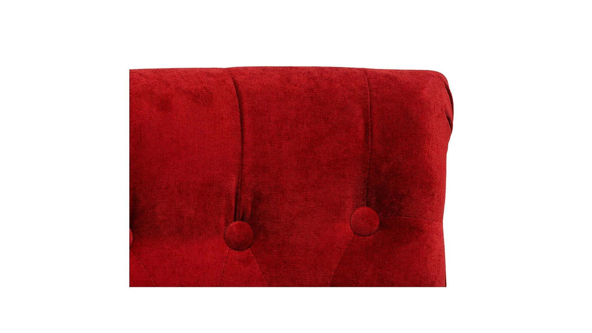 Кресло Dawson Красный Велюр М