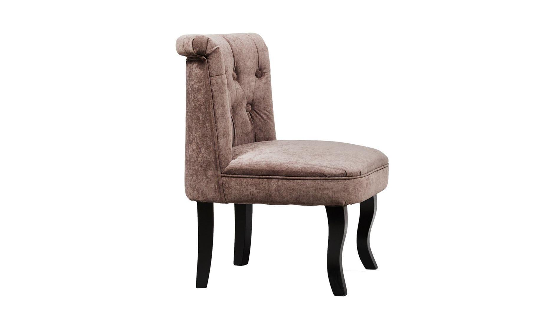 Кресло Dawson Тёмно-коричневый Велюр М