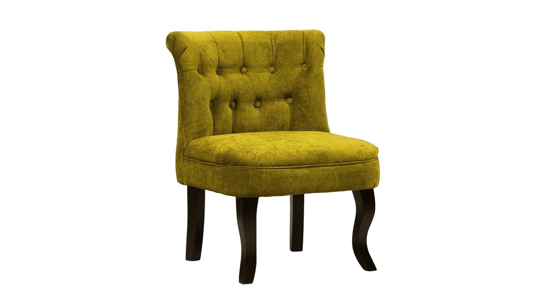 Кресло Dawson Жёлтый Велюр М