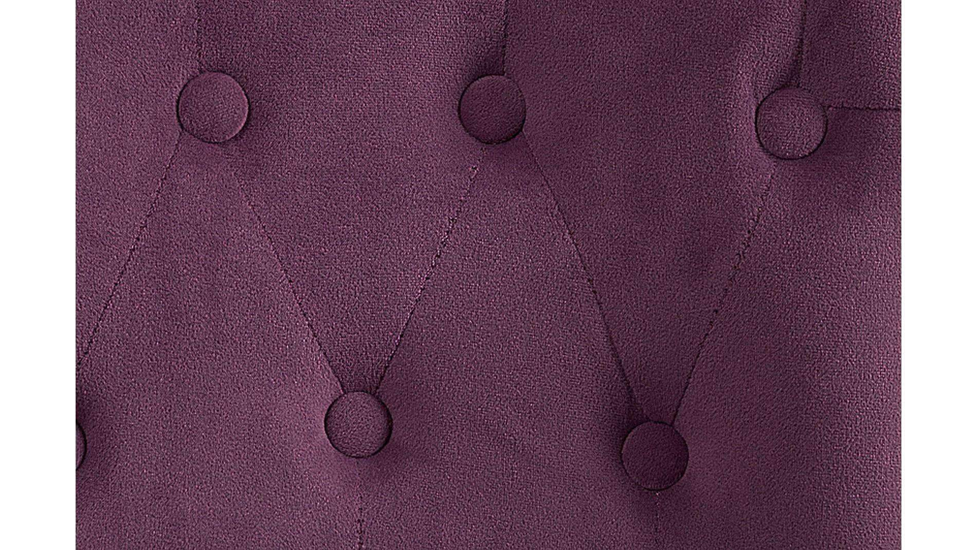 Кресло Dawson Тёмно-лиловый Велюр М
