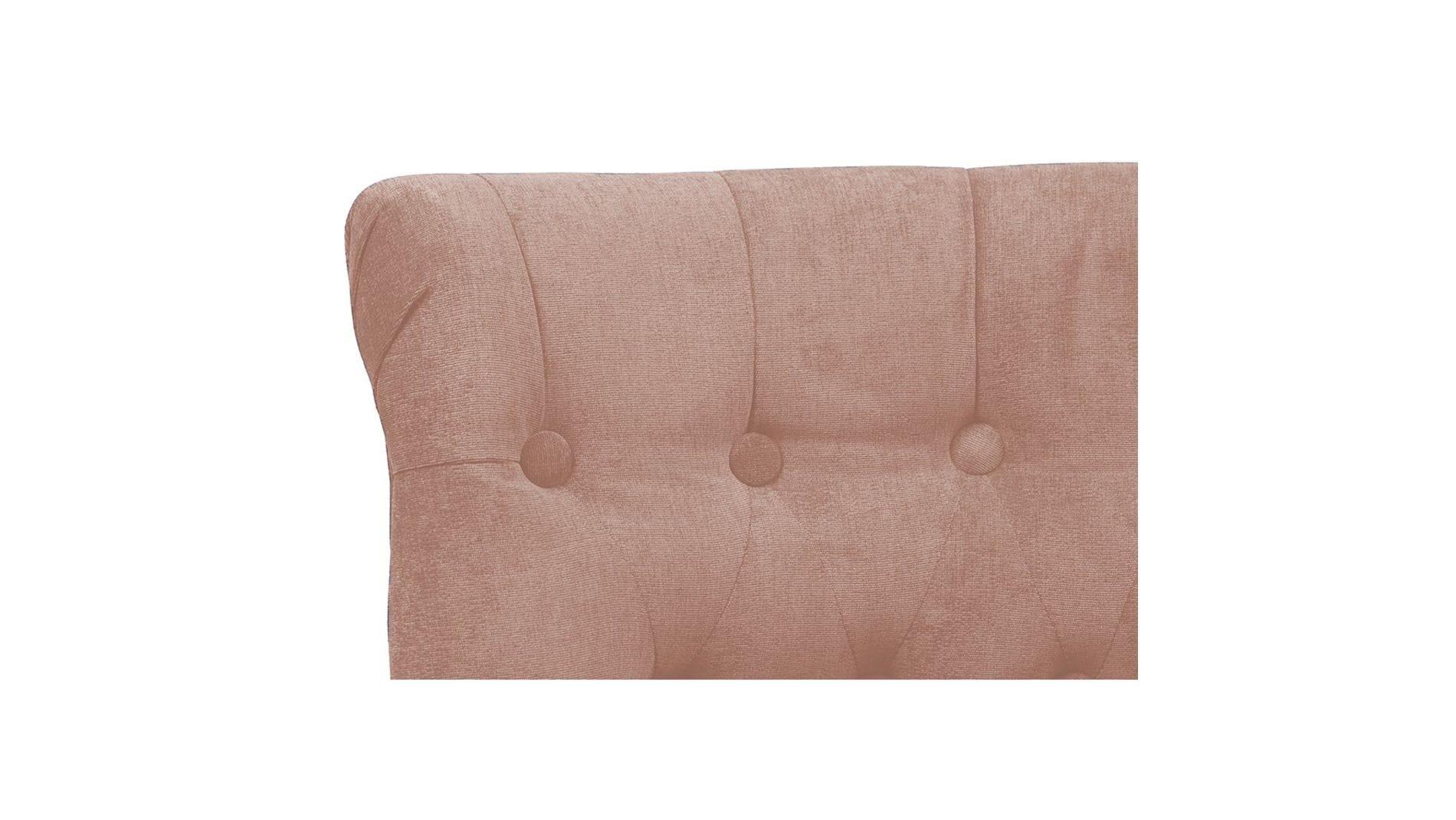 Кресло Dawson Светло-Розовый Велюр М