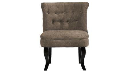 Кресло Dawson Серо-Коричневый Велюр М