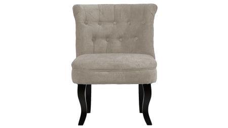 Кресло Dawson Светло-Серый Велюр М