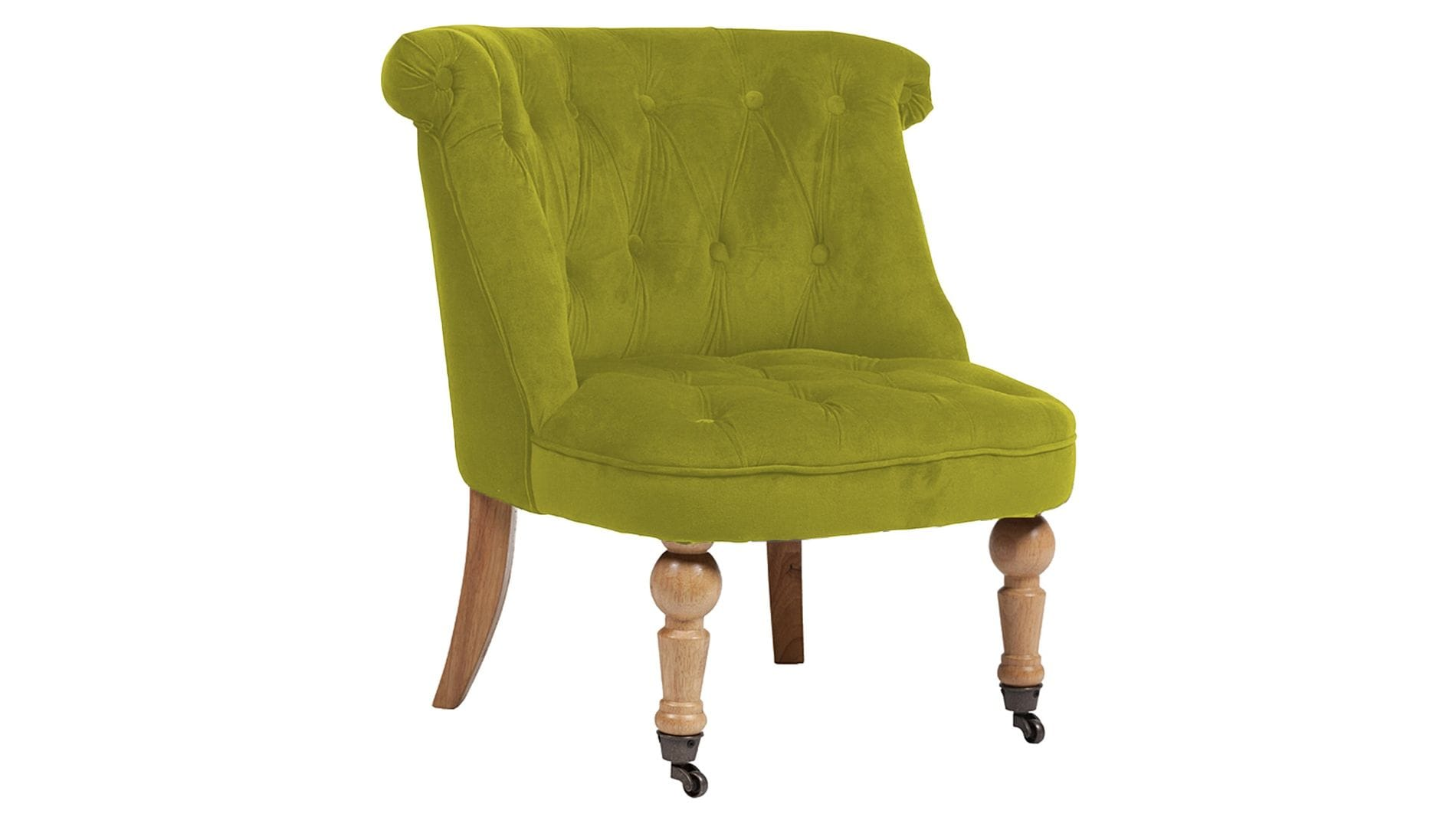 Кресло Amelie French Country Chair Оливковый Велюр М