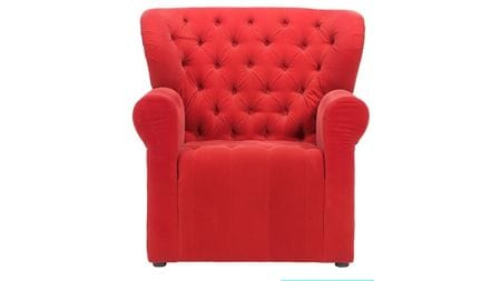 Кресло Daisy Красное