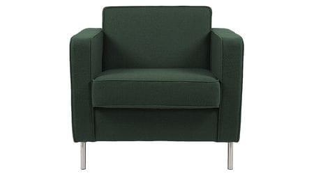 Кресло George Серо-Зелёный Микровелюр Р