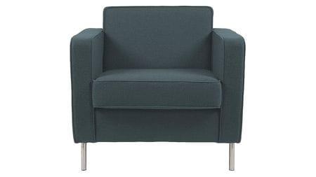 Кресло George Тёмно-Зелёный Микровелюр Р
