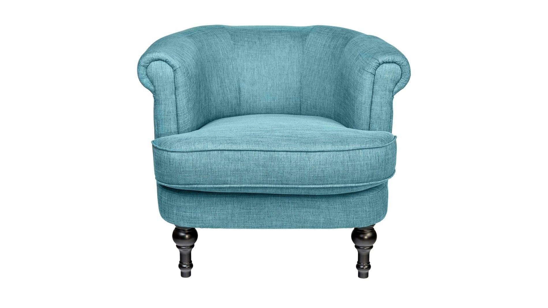 Кресло Charlotte Bronte Голубое