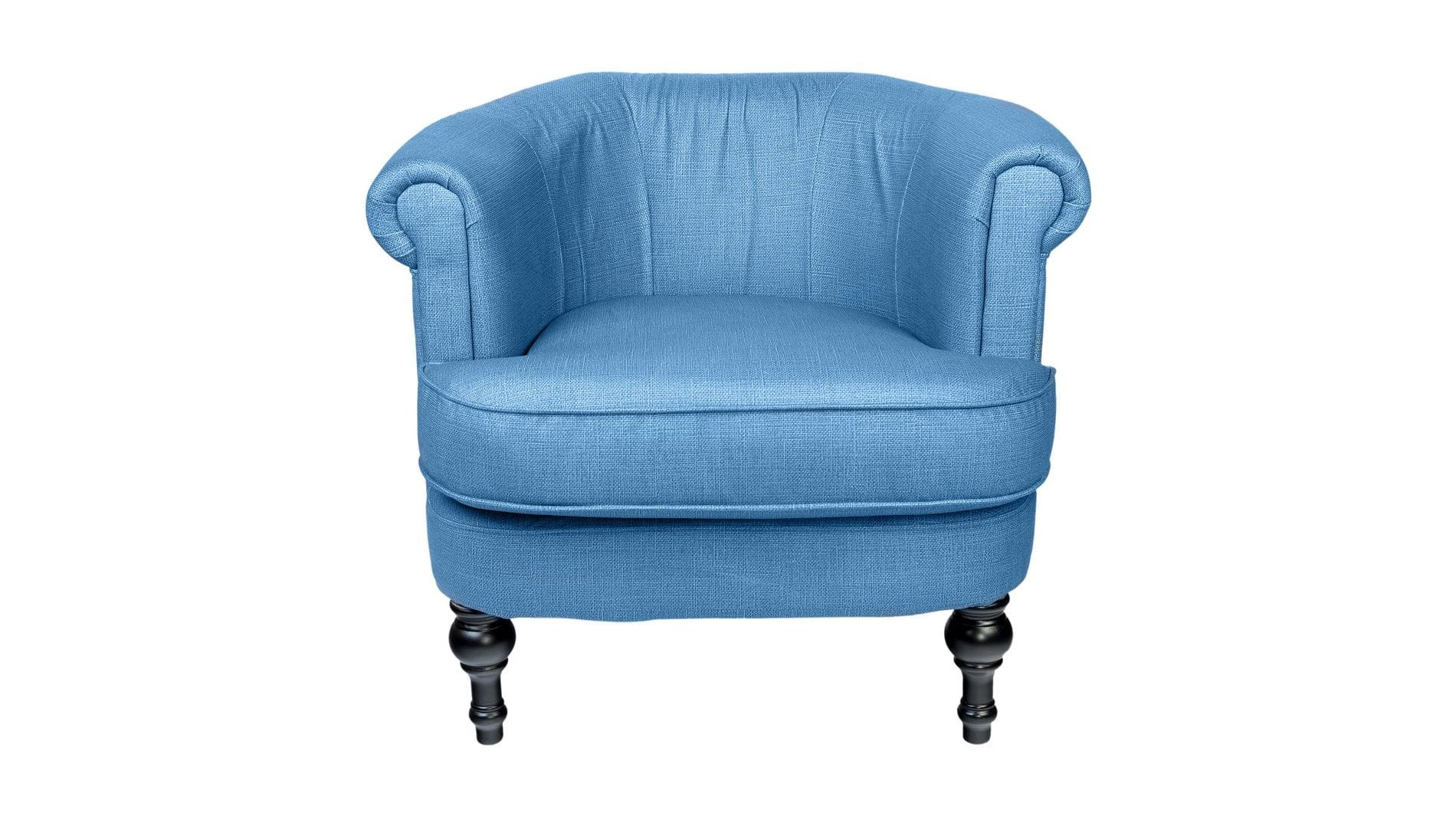 Кресло Charlotte Bronte Светло-синее