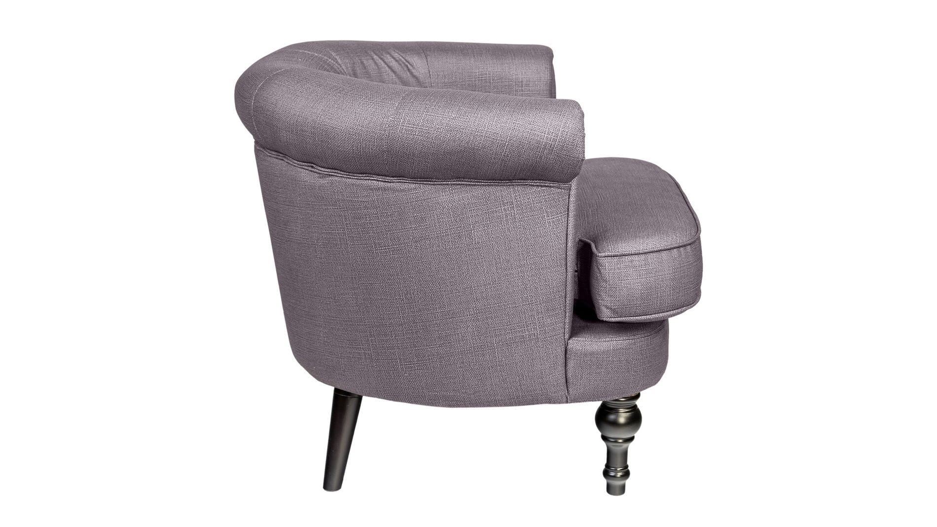 Кресло Charlotte Bronte Серое