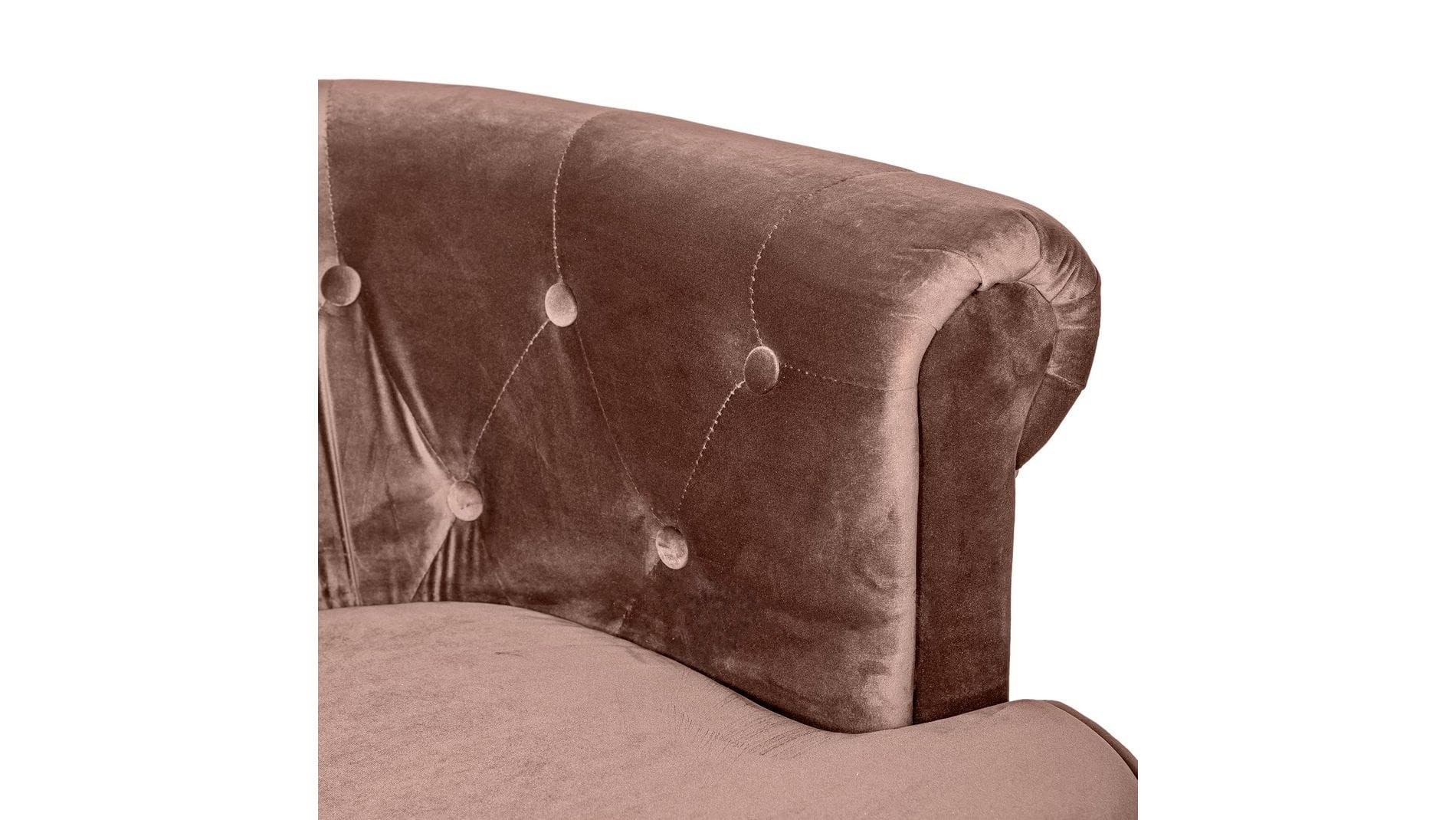Кресло William Thackeray Коричневое