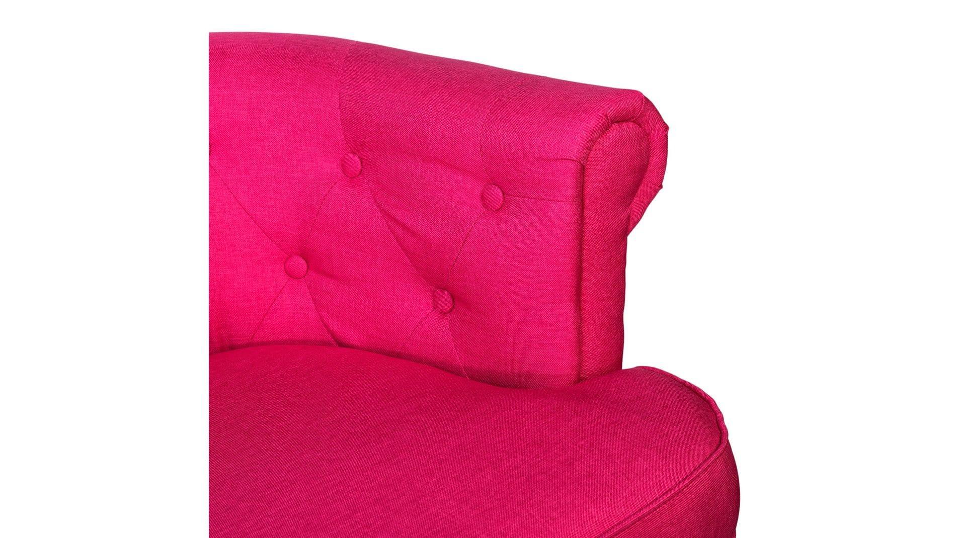 Кресло William Thackeray Розовое