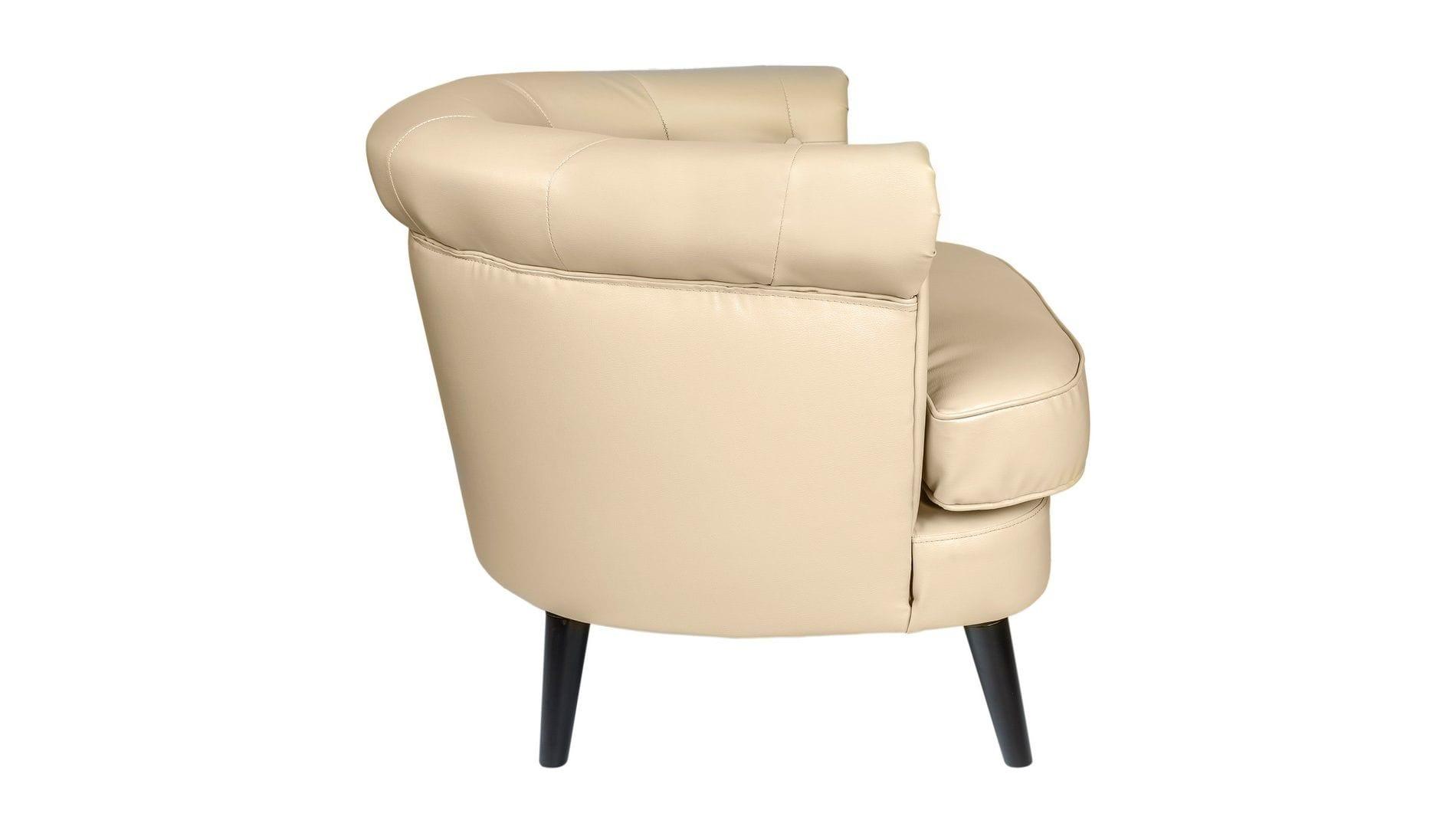 Кресло William Thackeray Кремовое
