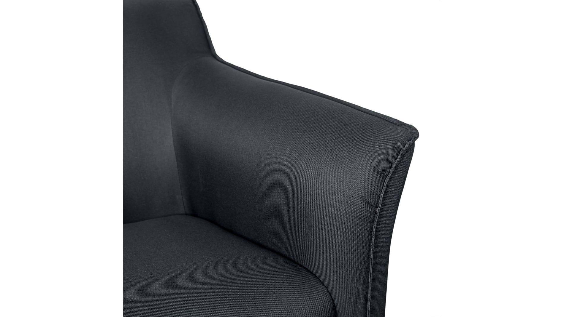 Кресло Gordon Byron Тёмно-серый