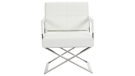Кресло Aster X Chair White Premium Leather