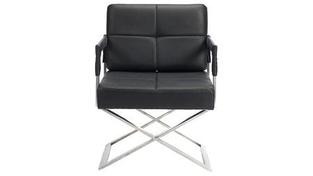 Кресло Aster X Chair Black Leather
