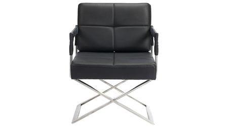 Кресло Aster X Chair Black Leather