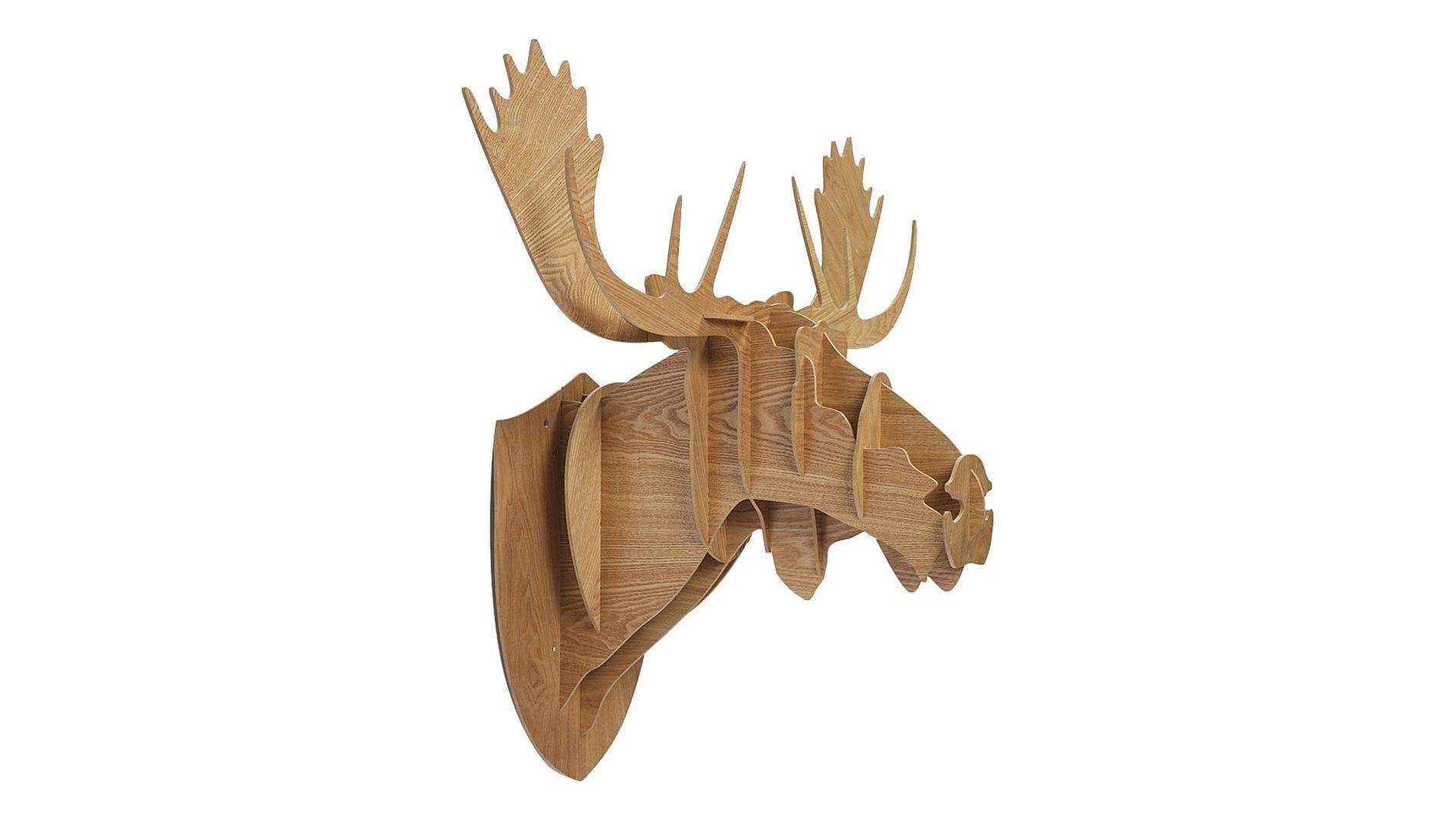 Декоративная голова оленя Sand Huge
