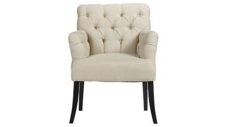 Кресло Castro Armchair Белый Лен