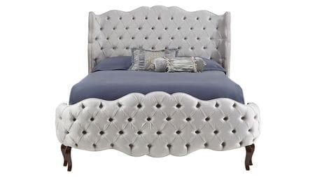 Кровать Plasidor 180х200 Серый