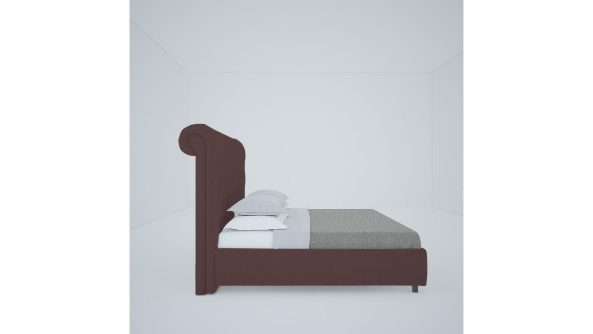 Кровать Sweet Dreams 140х200 Велюр Коричневый Р