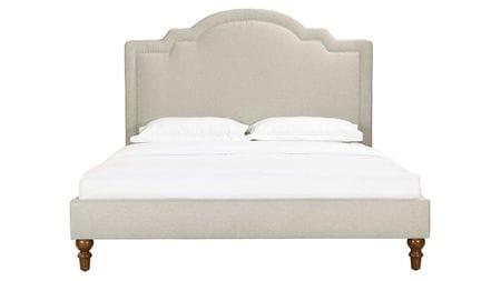 Кровать Cassis Upholstered бежевая 160х200 Р