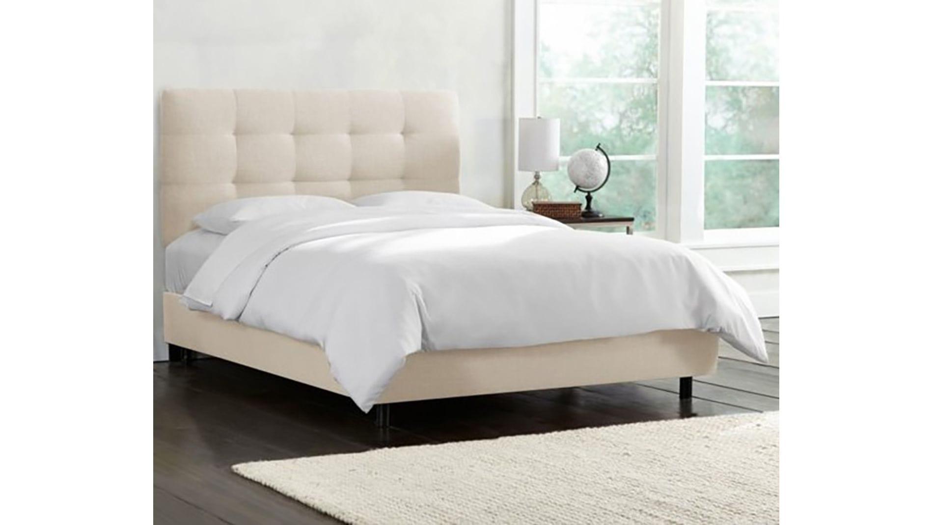 Кровать Alice Tufted Talc 160х200 Р