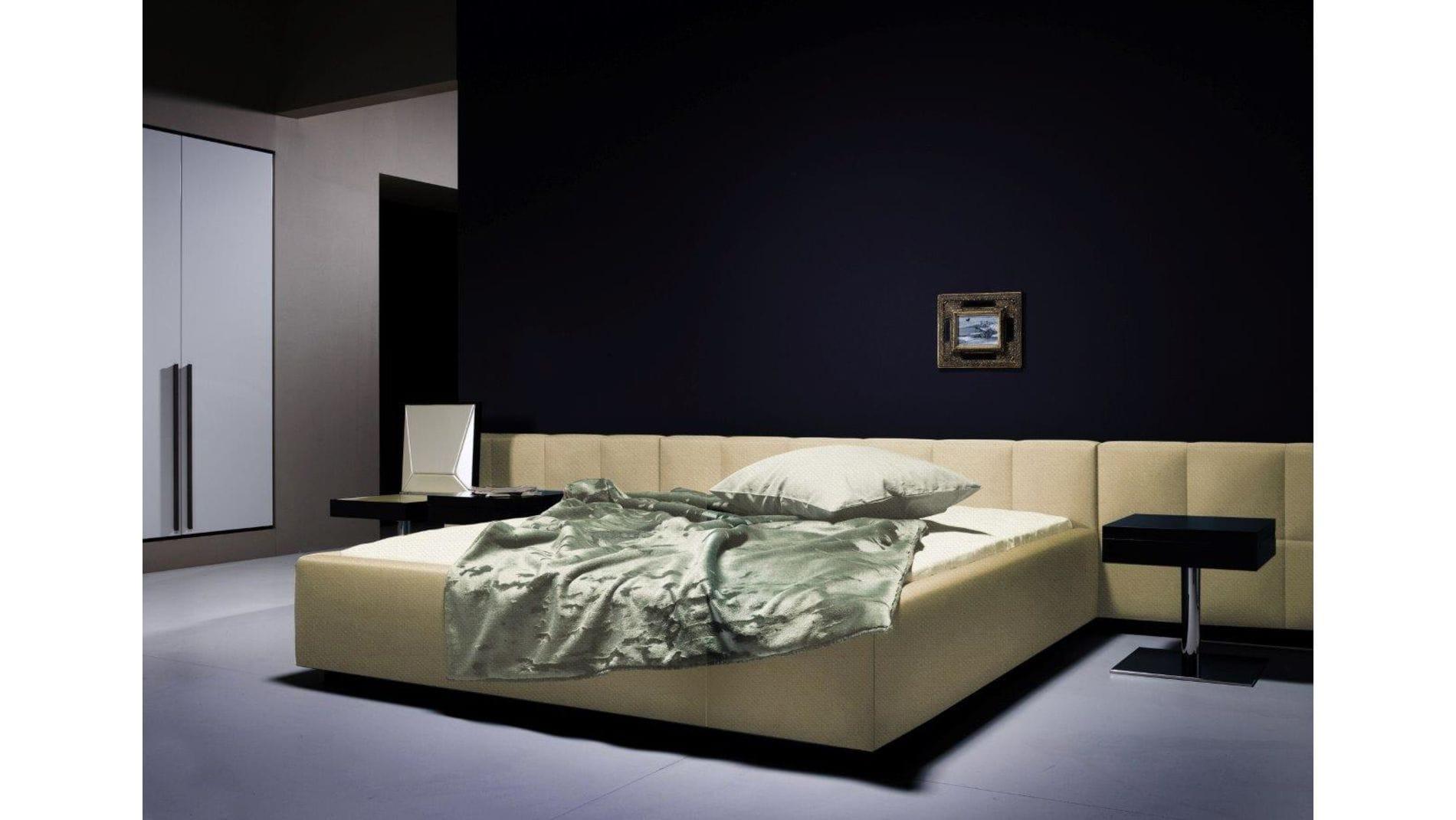 Кровать Ohen Grande 180х200 Светло-бежевая Нейлон