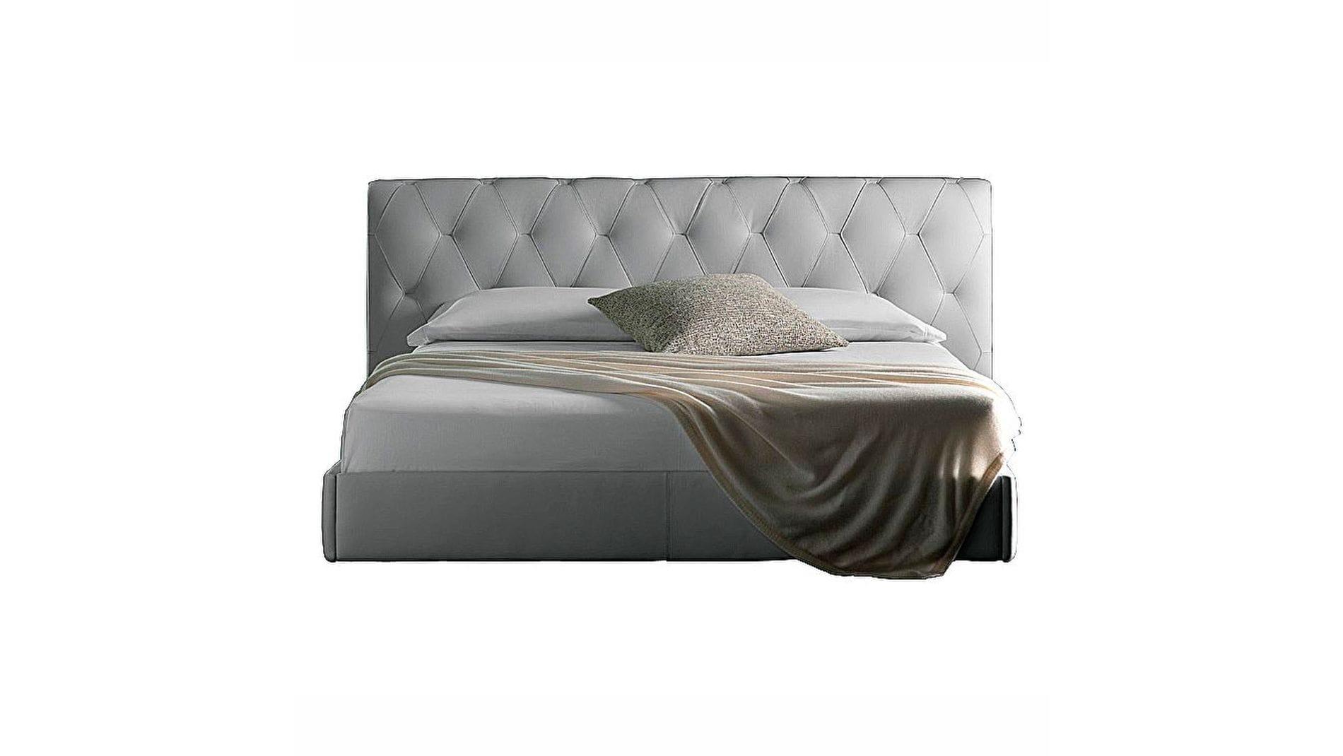 Кровать Bluemoon White Premium Leather