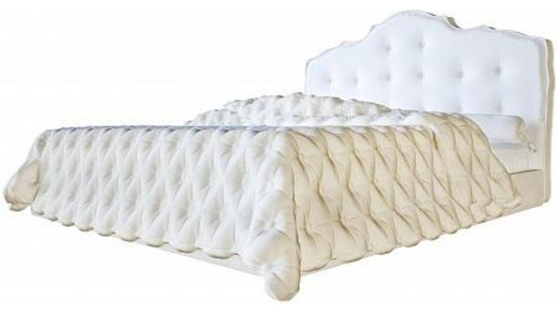 кровать Palace 160х200 белая экокожа р купить за 73100 руб в москве