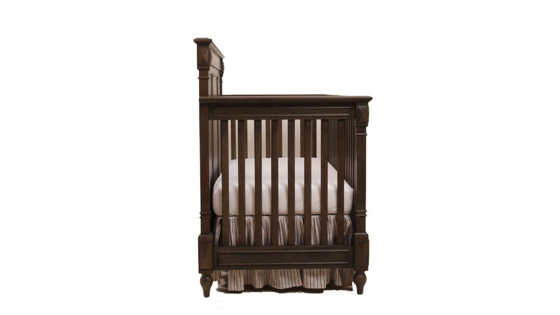 Кровать детская Gracia Коричневая с матрасом 120х60