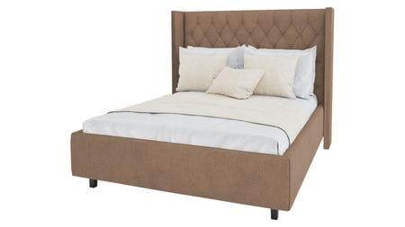 Кровать Wing-2 160х200 Велюр Светло-коричневый Р