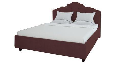 Кровать Palace 160х200 Велюр Коричневый Р