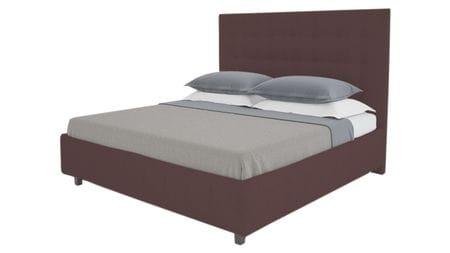 Кровать Royal Black 160х200 Велюр Коричневый Р