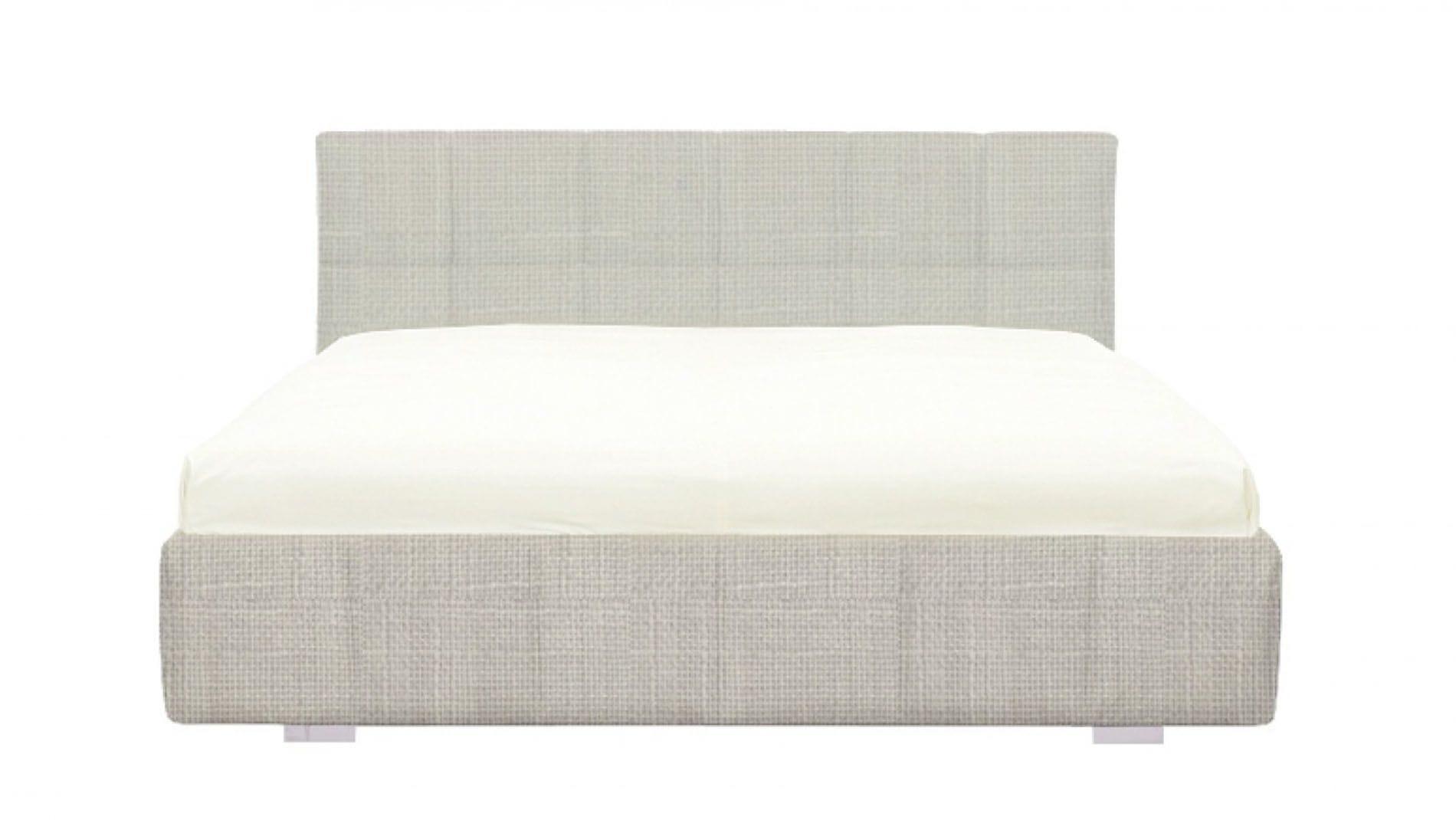 Кровать Castell 180х200 Светло-серая Р