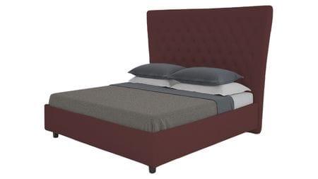 Кровать QuickSand 140х200 Велюр Коричневый Р