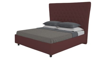 Кровать QuickSand 180х200 Велюр Коричневый Р