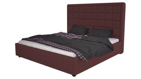Кровать Elizabeth 200х200 Велюр Коричневый Р