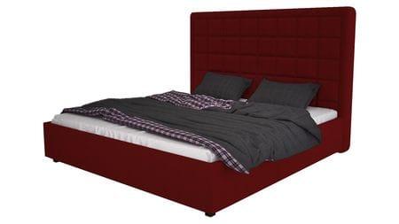 Кровать Elizabeth 200х200 Велюр Красный Р