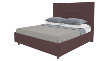 Кровать Royal Black 140х200 Велюр Коричневый Р