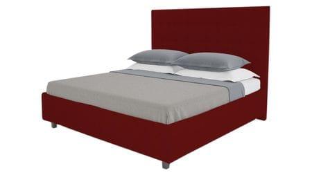 Кровать Royal Black 140х200 Велюр Красный Р