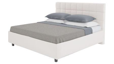 Кровать Wales 140х200 Велюр Серый Р
