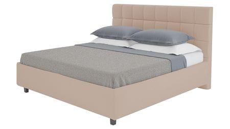 Кровать Wales 160х200 Велюр Серо-коричневый Р