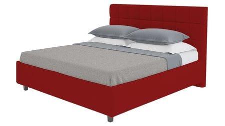 Кровать Wales 180х200 Велюр Красный Р