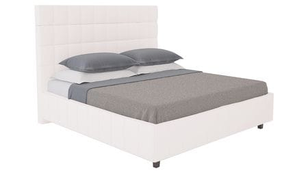 Кровать Shining Modern 140х200 Велюр Пыльная роза Р