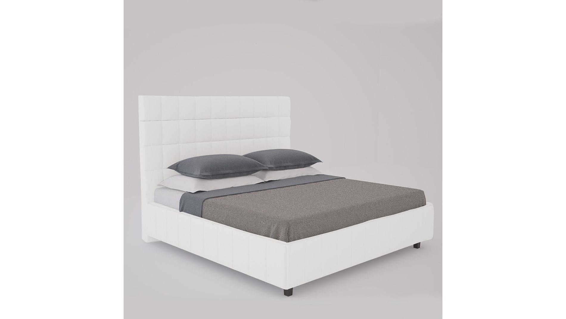 Кровать Shining Modern 200х200 Велюр Бежевый Р