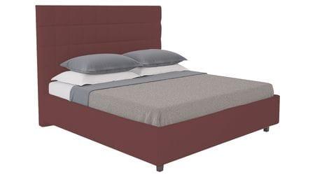Кровать Shining Modern 200х200 Велюр Коричневый Р