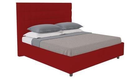 Кровать Shining Modern 200х200 Велюр Красный Р